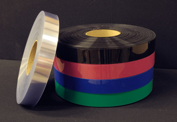 "500' x .010"" Clear PVC Shelf Strip Roll"